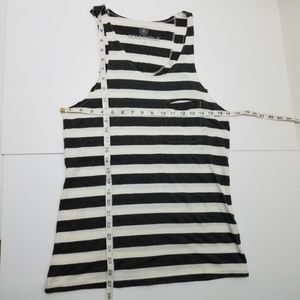 soulcycle Tops - Soulcycle wheel striped tank top